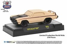 M2 Machines Ground Pounder Release 16 1970 Buick GSX CHASE CLAY