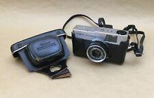 Vintage Olympus Quickmatic EEM 35mm Film Camera 36mm 1:2.8 D. Zuiko Lens