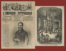 L'Emporio Pittoresco 166 Costantinopoli la Torre di Galata Paolo Sarpi 1867