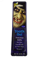 Black Out Tooth Wax Vampire Fancy Dress Halloween