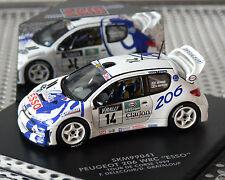 PEUGEOT 206 WRC BLANCO, skid , 1:43