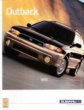 1999 99 Subaru Outback original sales brochure MINT