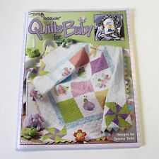Taddpole Quilts for Baby Leisure Arts Pattern Book Tammy Tadd 7 Quilting Project