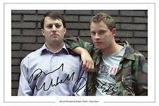 DAVID MITCHELL ROBERT WEBB SIGNED PHOTO PRINT PEEP SHOW