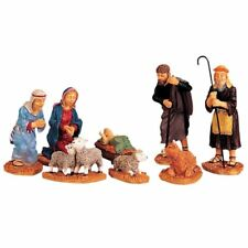 New Lemax Figurines Nativity Figurines Set of 8 # 92351 Polyresin 2017
