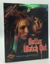 Better Watch Out (Blu-ray+DVD, 2017: 2-Disc Set) NEW w/ Slipcover