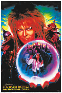 LABYRINTH MOVIE - BLACKLIGHT POSTER - 24X36 - BOWIE 836