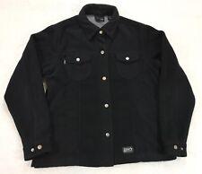 DDX Dri Duck fleece Soft Snap Work Jacket Shirt Men's Size Small/Medium
