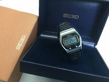 SEIKO 0664-5000 1976  LC Quartz LCD Digital watch - James Bond Rare uhr MOT