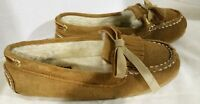 Sperry Top Sider, Moccasin Loafer, Tan Leather Upper, Size 6 M