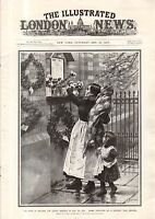 1917 London News January 27-Douaumont Fort- Verdun; Mesopotamia; Serbia;Flanders