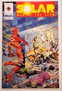 Solar Man of the Atom #9 - May 1992 - Valiant Comics - Uncertified - VF+