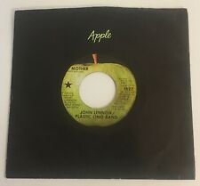 John Lennon / Mother & Why / 1970 Apple 45 West Coast Star Apple Label / NM+