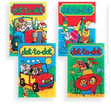 4 x Mini A6 Dot to libro di attività Per bambini Sacchetto Da Riempire Festa