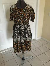 NIGERIAN AFRICAN WAX ANKARA DRESS ( CULTURAL& ETHNIC CLOTHING > AFRICA )