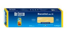 De Cecco dry pasta Bucatini N.15 - 1 Lb (PACK OF 6)