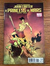 John Carter A Princess of Mars #1 Marvel Comics 2011 NM Edgar Rice Burroughs