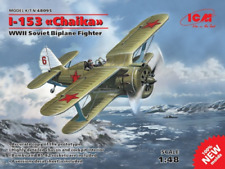 "ICM 48095 WWII Soviet Biplane Fighter I-153 ""Chaika"" 1/48"