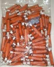 BAXTER BAXA ExactaMed Amber Oral Medicine Syringe Dispenser 10cc/10mL +Cap -100-