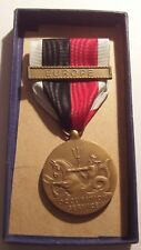 Army of Occupation Service Medalin Original Box with Europe Bar