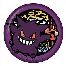 Pokemon Gengar Button Pin Anime Manga NEW