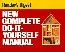 Readers Digest New Complete Do-It-Yourself Manual (1991, Hardcover)