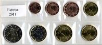██ ██ SERIE COMPLETA MONETE EURO ESTONIA 2011 FIOR DI CONIO IN BLISTER██ ██
