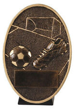 Oval Soccer Resin Trophy - Free Engraving, Cheap