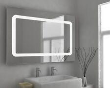 LED Illuminated Bathroom Mirror with Sensor, Shaver and Demister - Yianni - c45