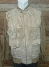Colin St.Marx Leather MEN'S Jacket Coat  Size XL Made in Korea