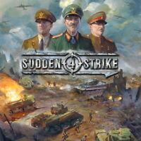 Sudden Strike 4 - Strategy Game PC Steam Download Key REGION FREE