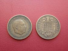 1 PESETA FRANCO 1947-49 BC ESPAÑA