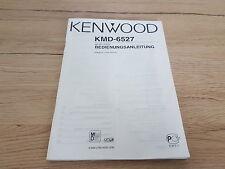 Originale Kenwood manual de instrucciones para kmd-6527 12 meses de garantía *