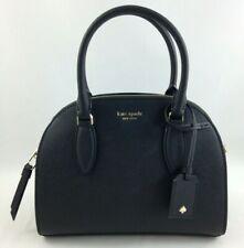 Kate Spade WKRU5886 Reiley Medium Dome Satchel Black Leather