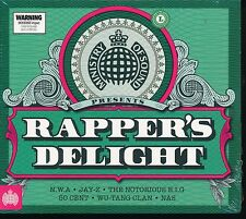 MINISTRY OF SOUND RAPPER'S DELIGHT VARIOUS ARTISTS 3 CD DIGIPAK NEW