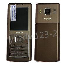 Original Unlocked Nokia 6500C 6500 Classic Brown GSM Bluetooth Mobile Bar Phone
