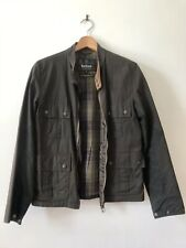 BARBOUR International Chico Wax Small Jacket S bike style coat not Steve McQueen