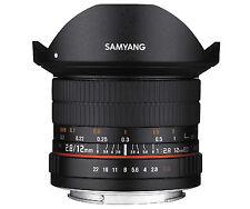 Samyang 12mm F2.8 ED AS NCS FISH-EYE Lens for Sony Alpha mount