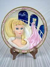 The Bradford Exchange Barbie Enchanted Evening Forever Glamorous 1718A Plate