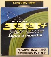 Cortland 333 Fly Line Floating Rocket Taper WF4F 28yds  321618