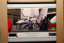 STAR WARS WILLITTS RALPH MCQUARRIE SIGNED LITHOGRAPH DARTH VADERS ARRIVAL NEW AP