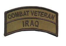 OD Combat Veteran - Iraq Tab - Operation Iraqi Freedom - USMC - ARMY - US Ranger