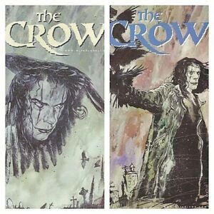 °THE CROW # 7 & 8 TOUCH OF EVIL 1 bis 2 von 2° USA Image Comics 1999 M. Gaydos