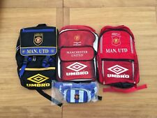 Manchester United Bundle 1992-1996 Backpack Umbro, Very Rare, Vintage, Retro!!