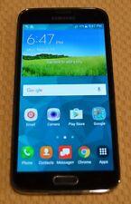 Samsung Galaxy S5 USED 16GB Black Verizon Phone SMG900VZKV NO SIM CARD (ID-09)