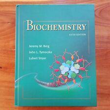 Biochemistry by Berg Tymoczko Stryer 5th Edition Hardcover