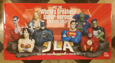 NIB DC Direct Justice League JLA Bookends Statue Batman Wonder Woman Superman