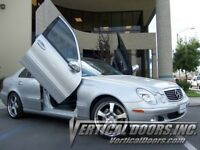 Vertical Doors - Vertical Lambo Door Kit For Mercedes E-Class 2003-09