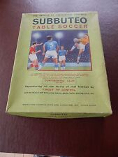 SUBBUTEO  LARGE OLD BOX  VGC WITH SOME PARTS