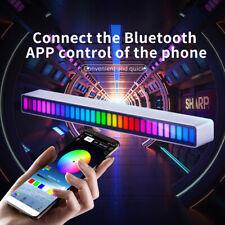 Auto sprachaktiviert Tonabnehmer Rhythm Light RGB Musik-LevelAnzeige Audio 32Bit